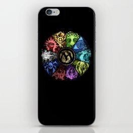 Magic the Gathering - Faded Guild Wheel iPhone Skin