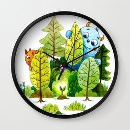 New Growth Wall Clock