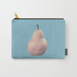 Geometric Pear Carry-All Pouch