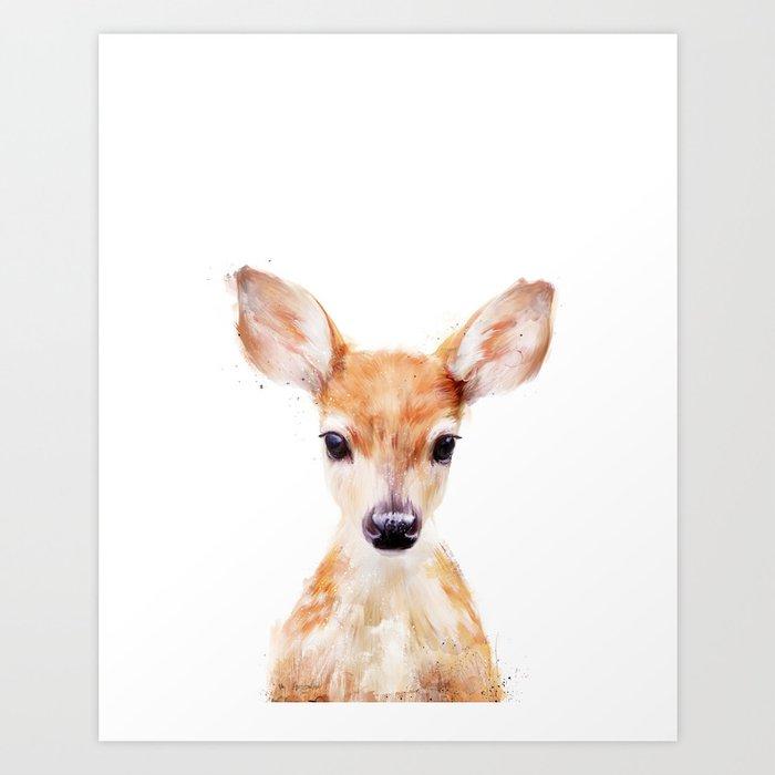 Sunday's Society6 | Little animal deer art print