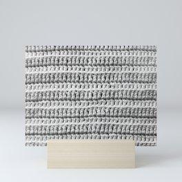 Crochet Texture Mini Art Print