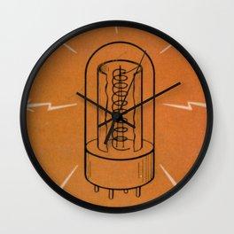 Vintage Vacuum Tube Wall Clock