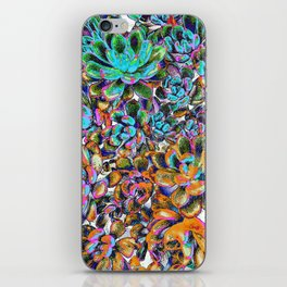 Floral tribute [galaxy] iPhone Skin