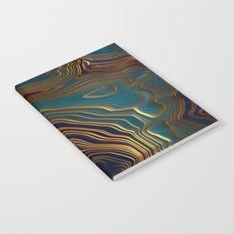 Peacock Ocean Notebook