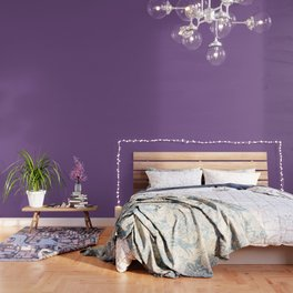 Dark English Lavender 1 - Color Therapy Wallpaper