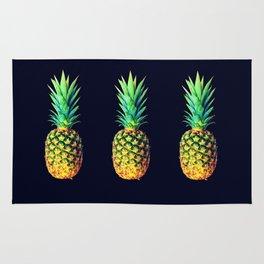 Night Knights Pineapples Rug