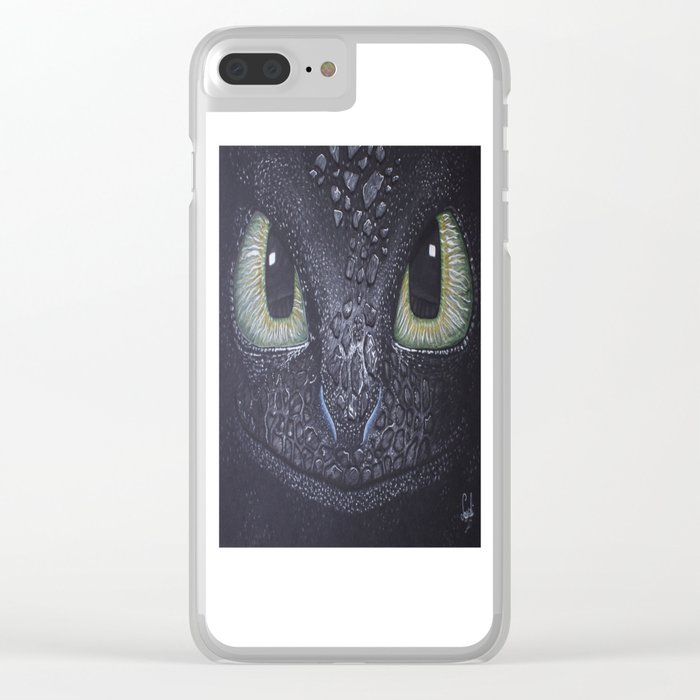 Toothless Clear iPhone Case