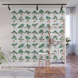 Bonsai Pattern Wall Mural