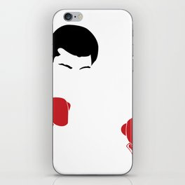 Faceless Ali Cassius Muhammad Clay iPhone Skin