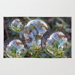 Flower bubbles Rug