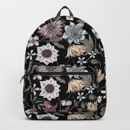 colorful floral pattern II Backpack