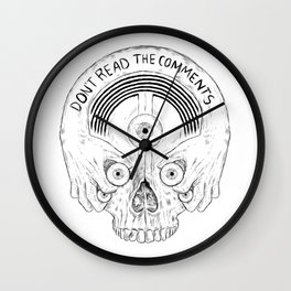 Don't read the comments Wall Clock