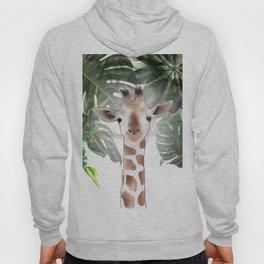 Giraffe in the trees. Hoody