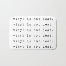 Vinyl is not dead. III Bath Mat