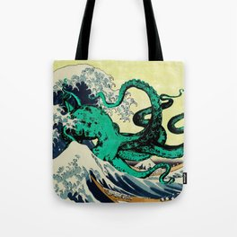 Great Octo-Wave Tote Bag