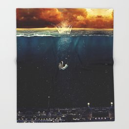 """""""Our Ends Are Beginnings"""" - Limited Print Throw Blanket"""