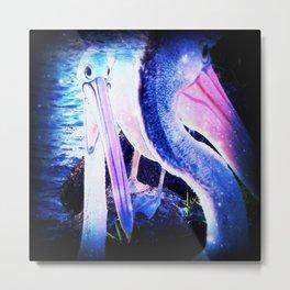 Pelicans Metal Print