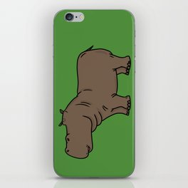 Hippo iPhone Skin