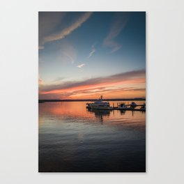 Golden Hour at the National Harbor Canvas Print