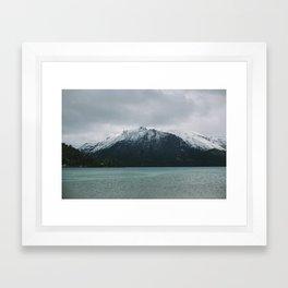 Patagonia Mountain Framed Art Print