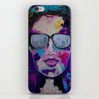 sunglasses iPhone & iPod Skins featuring Sunglasses by Wendistry