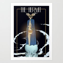 The Hermit Art Print