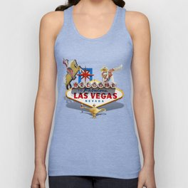 Las Vegas Welcome Sign Unisex Tank Top