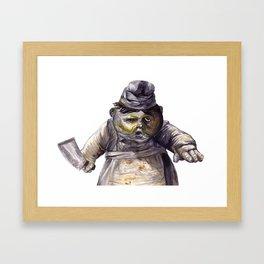 Little Nightmares - Cook Framed Art Print