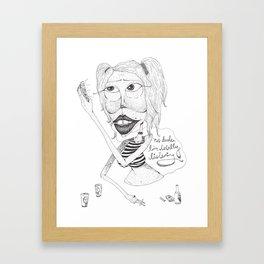 totally  Framed Art Print