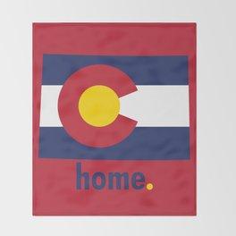 Colorado Proud Throw Blanket