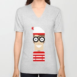 Wally Unisex V-Neck