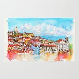 Lisbon, Portugal Rug