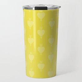 Hearts and Arrows - Blazing Yellow Travel Mug