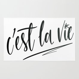 C'est la vie! Rug