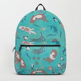 Sea Otters Backpack
