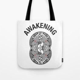 Vesica Piscis Awakening Tote Bag