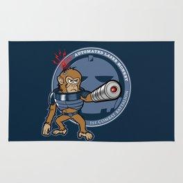 Automated Laser Monkey Rug