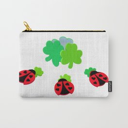 Lucky Ladybugs Carry-All Pouch