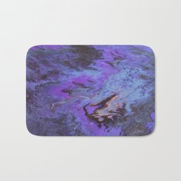 Sweetness 0009- Iridescent Fluid Painting Bath Mat