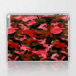 Camouflage (Red) Laptop & iPad Skin