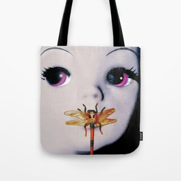 Silence of the lambs - film poster spoof Tote Bag