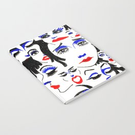 37 Theater Faces Notebook