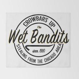 The Wet Bandits Throw Blanket
