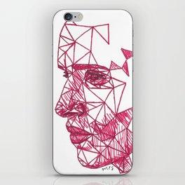 Eddie Redmayne Fracture Drawing iPhone Skin