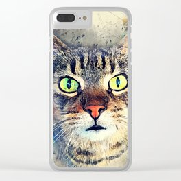Cat Baxter #cat #cats #kitty Clear iPhone Case