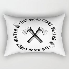CHOP WOOD CARRY WATER Rectangular Pillow