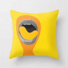 Cheeto Throw Pillow