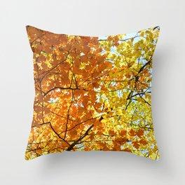 Majestic Autumn Throw Pillow