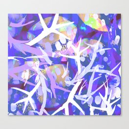 Purple staghorn Canvas Print