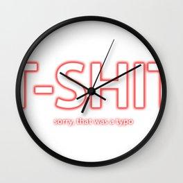 T-Shit Wall Clock